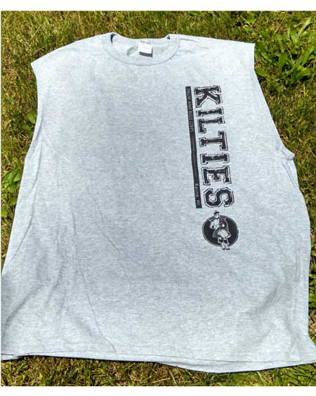 Kilties Grey Muscle Shirt